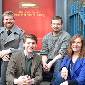 GRANTS AWARDED 2013 FEB Society for the Protection of Ancient Buildings SPAB Scholars 2015 L R David