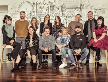 Old Vic 12 class of 2017-18