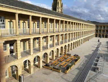 Grade I listed The Piece Hall in Halifax named as first ever Overall Winner
